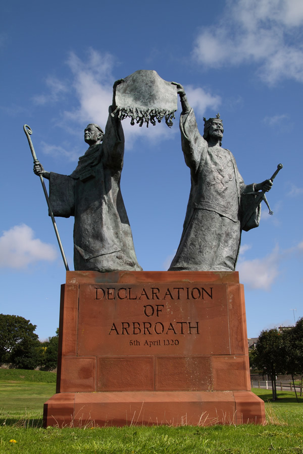 The Declaration of Arbroath - Scotland's successful claim of Independence in 1320'